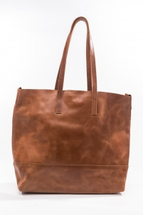 Nazreth Crossbody Tote Chestnut